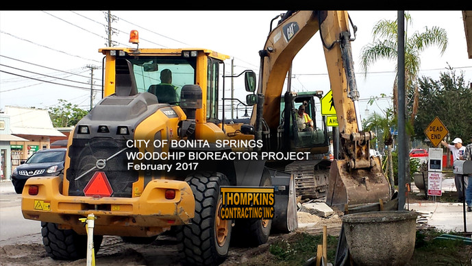 Thompkins Contracting Breaks Ground on Woodchip Bioreactor Project for City of Bonita Springs
