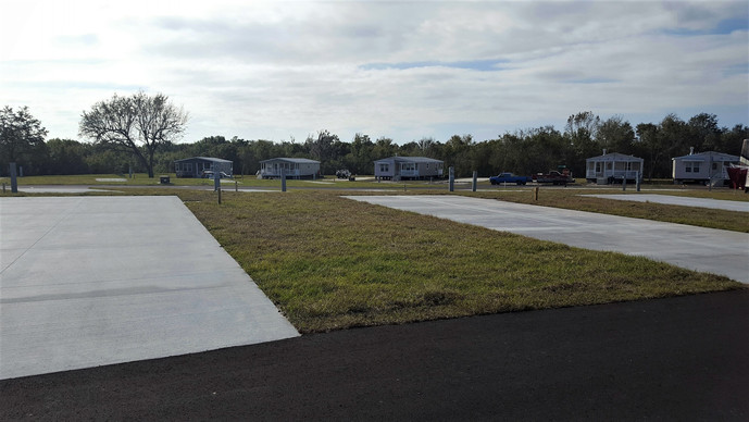 Thompkins Contracting, Inc. has completed their Cross Creek RV Resort expansion project.