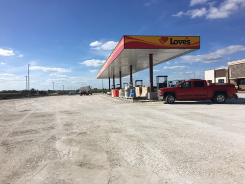 TCI nears completion of Love's Travel Stop project in Moore Haven, FL