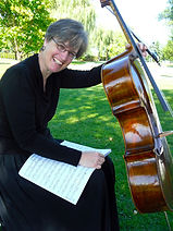 Gillian Stikeman-Delplace, cello