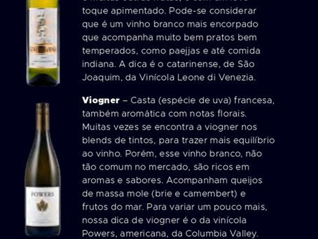 Vinho branco além dos clássicos