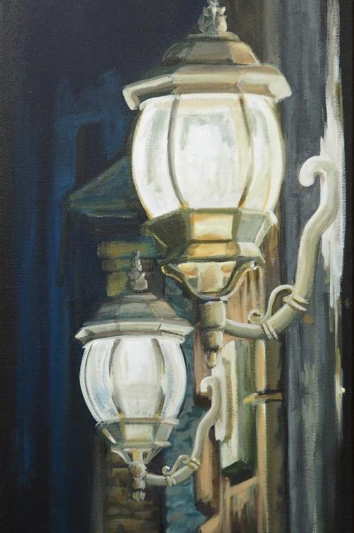 Lights on George Street