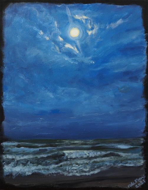 """Moon Over Hatteras"""
