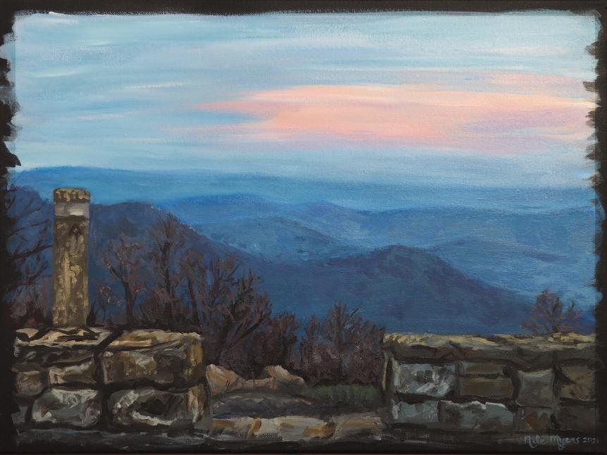 """""""Appalachian Trail Twilight"""""""