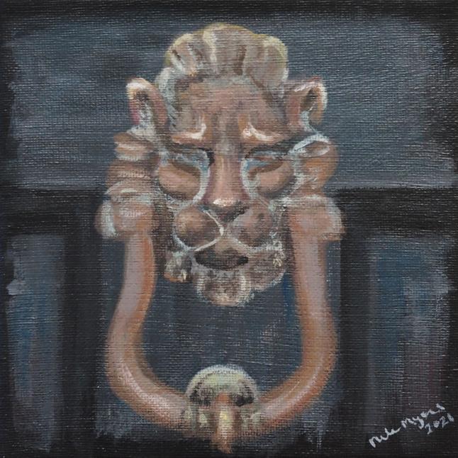 Old Lionhead Knocker