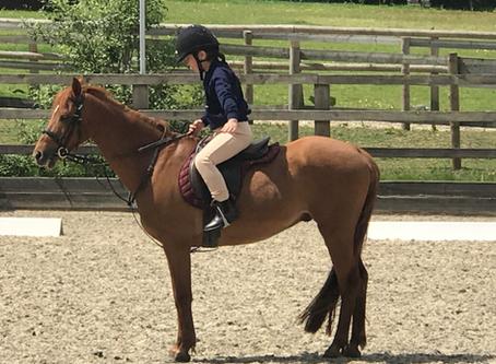 Horse riding: