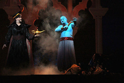 Lance Arthur Smith and Dylan White in Aladdin: A Musical Spectacular
