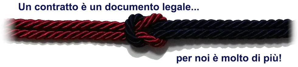 un contratto è un documento legale ma per noi èmolto di più