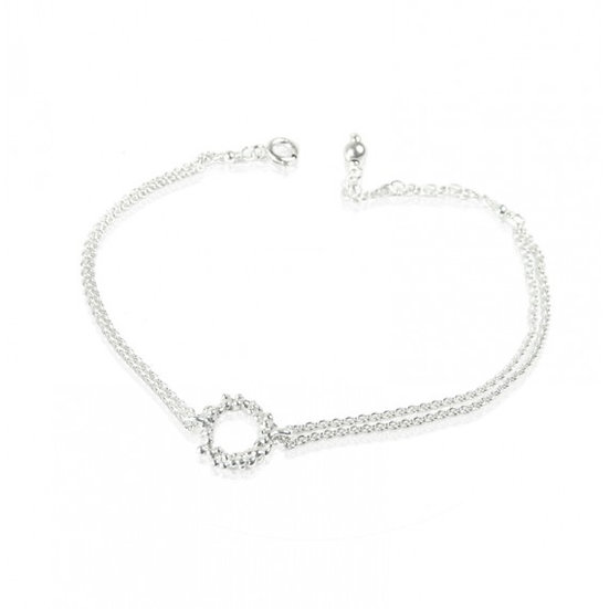 Granulated Circle Bracelet