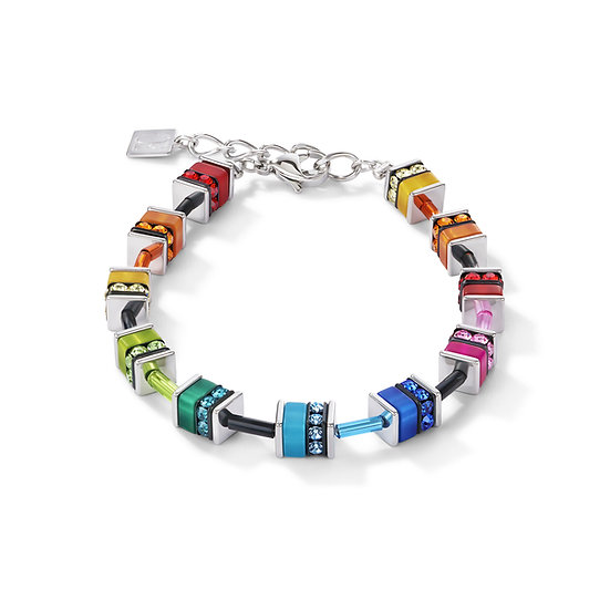Multicoloured Cube Bracelet