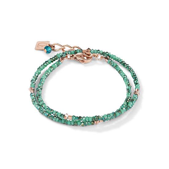 Rose-Petrol Bracelet/Necklace