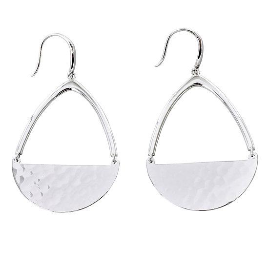 Swing Silver Earrings