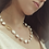 Thumbnail: Modern Baroque Pearl Necklace