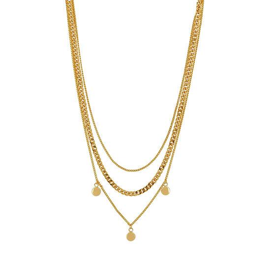 Vanity Triple Necklace