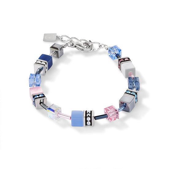 Blue And Rose Bracelet