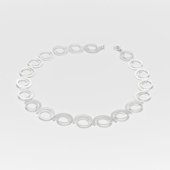 Matt Spiral Necklace