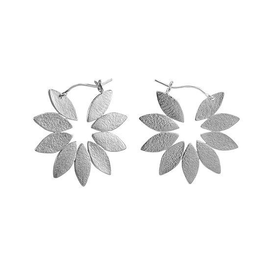 Icarus Fanned Hoop Earrings