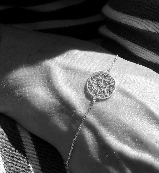 Broderie Silver Bracelet