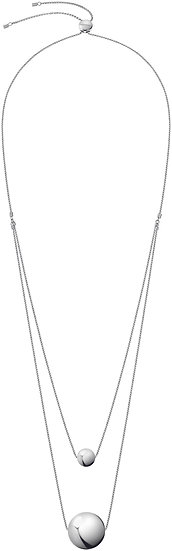 Unpaired Double Layer Necklace