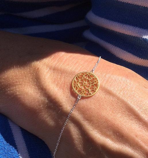 Broderie Gold Bracelet