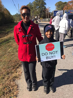 All Ages Joined The Boycott