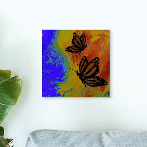 """BUTTERFLY EFFECT"" 8""x8"" Print"