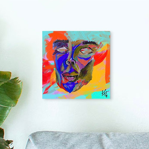 """""""FACE ABSTRACT"""" 8""""x 8"""" Print"""