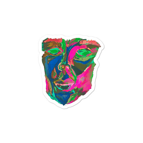 FACE Neon Bubble-free Sticker