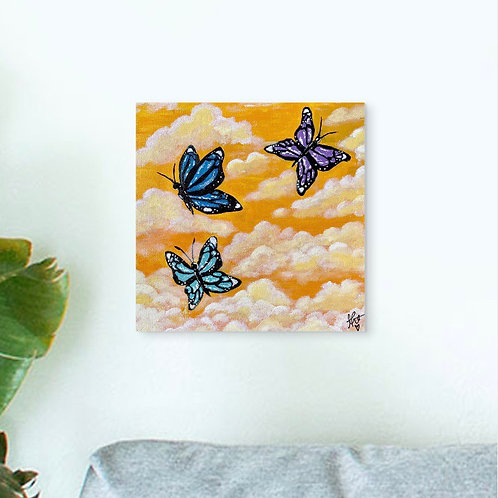 """Butterfly Dream"" 8""x8"" Print"