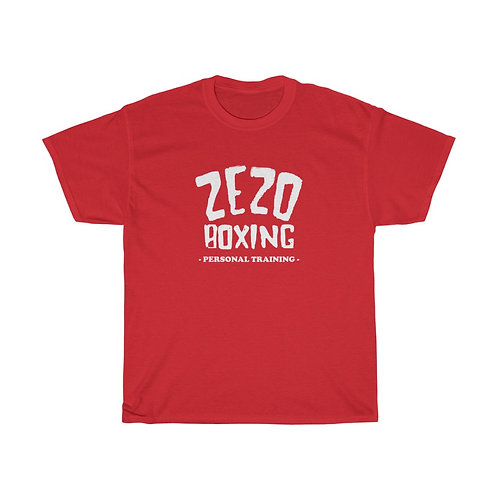 Zezos Boxing Unisex Heavy Cotton Tee