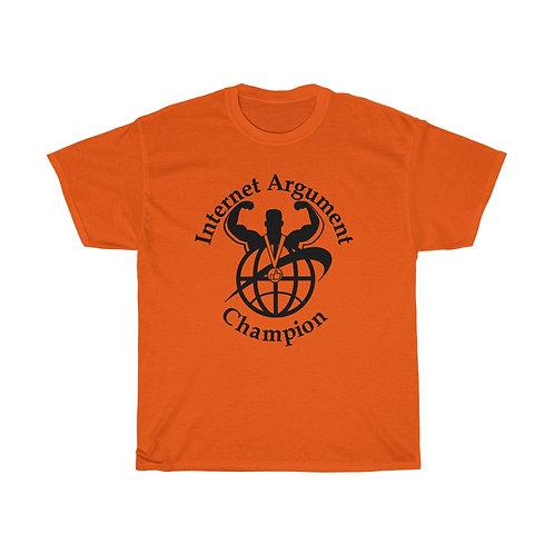 Internet Argument Champion T-shirt