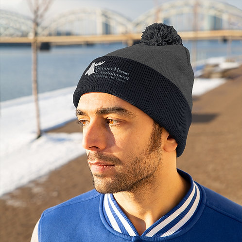Dapper Moose Full Changing the Game Pom Pom Beanie