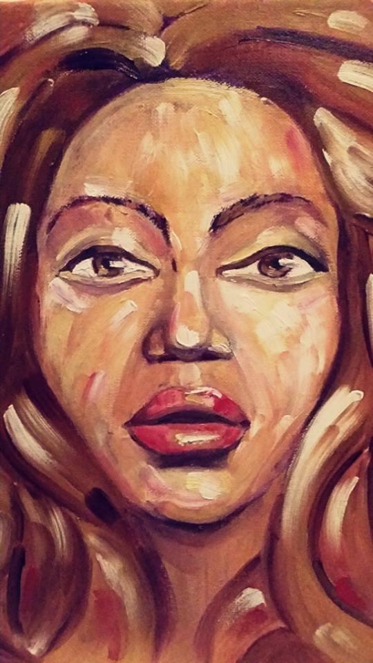 Beyonce portrait