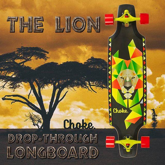 Lion Longboard promo