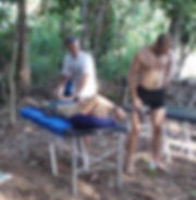 Osteopathy during Jungle Marathon
