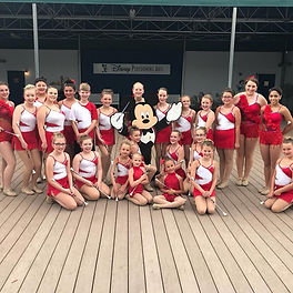 Kellys Kuties performed at Disney World & Universal Studios