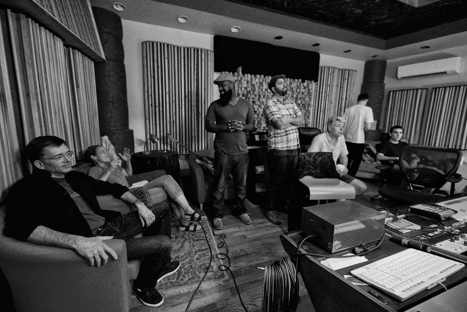 Under the Oak in studio - Dave DiRentis