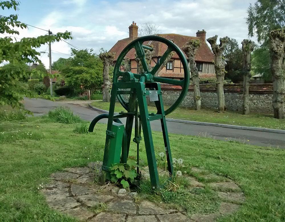Chilton village pump