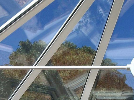 Conservatory roofs – G values and U values explained