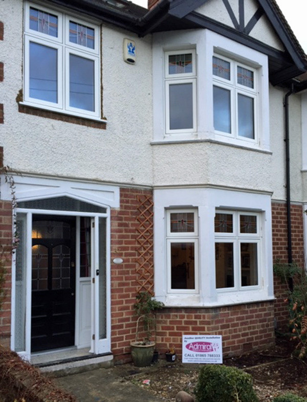 Bay fronted house with flush casements_Admiral Windows Oxford