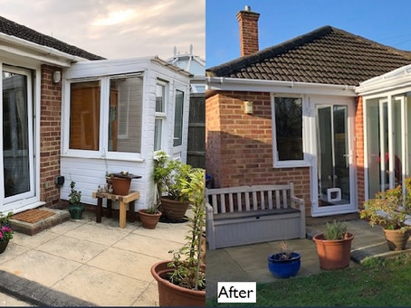 An orangery in Kidlington – an illustrated review of a complete Admiral Windows build project.