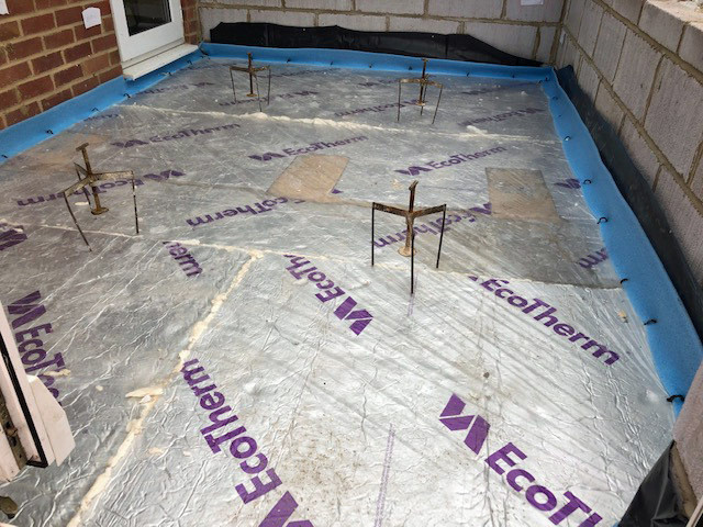 Build 10 floor insulation pre screed IMG_0052