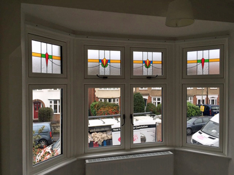 FF Bay stained glass fanlights_Admiral Windows Oxford