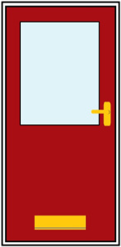 low level letterbox illustration