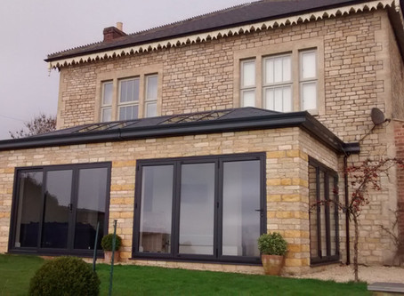 Product Spotlight – Ultraroof solid roof for conservatories