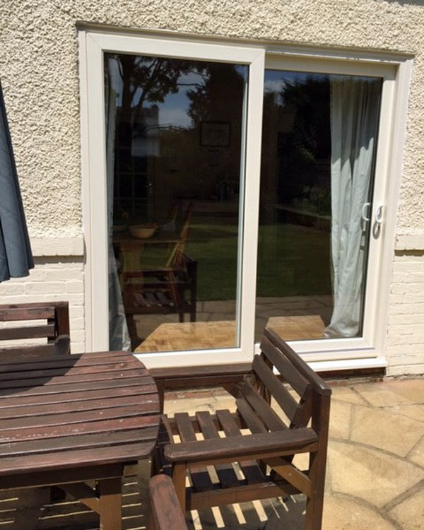 7 uPVC sliding patio doors Admiral Windows Oxford pe