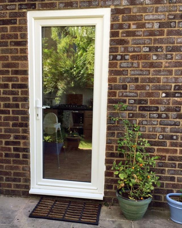 uPVC glazed back door_Admiral Windows Oxford