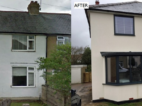 Aluminium door & window installation with Virtuoso composite door