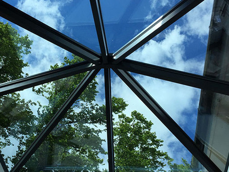 Watching the sky: lantern roofs