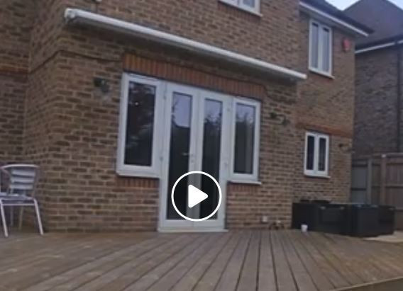 Replacing French doors with uPVC bifolds_BEFORE